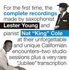 LESTER YOUNG Lester Young & Nat King Cole Complete Recordings album cover