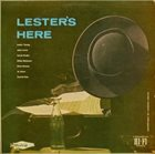 LESTER YOUNG Lester's Here album cover
