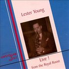 LESTER YOUNG Live! From the Royal Roost 1948 album cover
