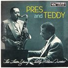 LESTER YOUNG Pres and Teddy album cover