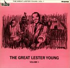 LESTER YOUNG The Great Lester Young Volume 1 & 2 album cover