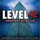 LEVEL 42 Greatest Hits Live album cover
