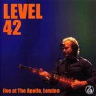 LEVEL 42 Live At The Apollo, London album cover