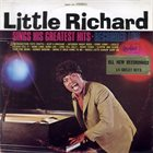 LITTLE RICHARD Little Richard Sings His Greatest Hits - Recorded Live (aka Original Live Performance) album cover