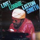 LONNIE LISTON SMITH Live! album cover