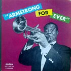 LOUIS ARMSTRONG Armstrong For Ever album cover