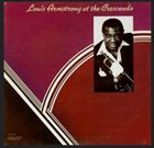 LOUIS ARMSTRONG At The Crescendo album cover