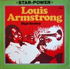LOUIS ARMSTRONG High Society album cover