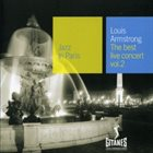 LOUIS ARMSTRONG Jazz in Paris: The Best Live Concert, Volume 2 album cover