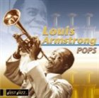 LOUIS ARMSTRONG Just Jazz: Pops album cover