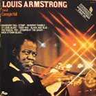 LOUIS ARMSTRONG Live At Carnegie Hall album cover