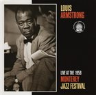LOUIS ARMSTRONG Live at the 1958 Monterey Jazz Festival album cover