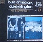 LOUIS ARMSTRONG Louis Armstrong / Duke Ellington ‎: At Newport album cover