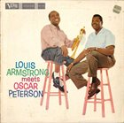 LOUIS ARMSTRONG Louis Armstrong Meets Oscar Peterson album cover