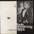 LOUIS ARMSTRONG Luis Armstrong 1924 album cover