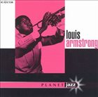 LOUIS ARMSTRONG Planet Jazz album cover