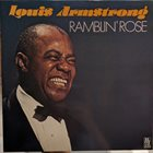 LOUIS ARMSTRONG Ramblin`Rose album cover