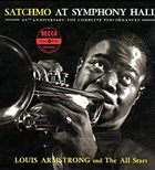 LOUIS ARMSTRONG Satchmo at Symphony Hall (aka Satchmo Live In Concert) album cover