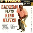 LOUIS ARMSTRONG Satchmo Plays King Oliver album cover