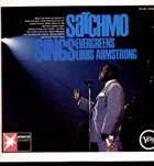 LOUIS ARMSTRONG Satchmo Sings Evergreens (aka When The Saints Go Marchin' In / Satchmo) album cover