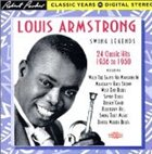 LOUIS ARMSTRONG Swing Legends: 24 Classic Hits, 1936-1950 album cover