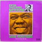 LOUIS ARMSTRONG Swing That Music Satchmo album cover
