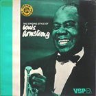 LOUIS ARMSTRONG The Singing Style of Louis Armstrong album cover