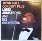 LOUIS ARMSTRONG Town Hall Concert Plus album cover