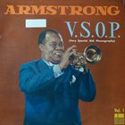 LOUIS ARMSTRONG V.S.O.P. (Very Special Old Phonography) Vol. 1 album cover
