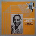 LOUIS JORDAN Three Hot Big Band Sessions In 1951 album cover