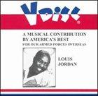LOUIS JORDAN V-Disc Recordings album cover