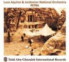 LUCA AQUINO Luca Aquino & Jordanian National Orchestra : Petra album cover