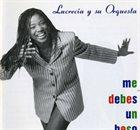 LUCRECIA Me debes un beso album cover