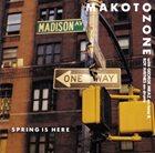 MAKOTO OZONE Spring Is Here album cover
