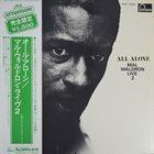 MAL WALDRON All Alone - Mal Waldron Live 2 album cover