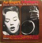 MAL WALDRON For Singers 'N Swingers album cover