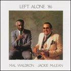 MAL WALDRON Left Alone '86 album cover