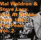 MAL WALDRON Mal Waldron & Steve Lacy : Live At Dreher Paris 1981, The Peak Vol. 2 album cover