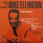 MAL WALDRON Sing or Play the Music of Duke Ellington album cover
