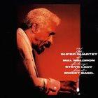 MAL WALDRON The  Super Quartet Of Mal Waldron: Live At Sweet Basil album cover