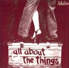 MALOO All About The Things album cover