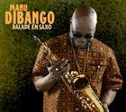 MANU DIBANGO Balade en Saxo album cover