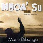 MANU DIBANGO Mboa' Su Kamer Feelin' album cover