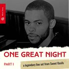 MARC CARY One Great Night - A Legendary Live Set from Sweet Basils part I album cover