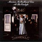 MARIAN MCPARTLAND Live at Carlyle album cover