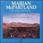 MARIAN MCPARTLAND Marian McPartland at the Festival album cover