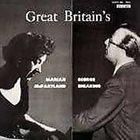 MARIAN MCPARTLAND Marian McPartland / George Shearing – Great Britain's album cover