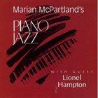 MARIAN MCPARTLAND Piano Jazz With Guest Lionel Hampton album cover