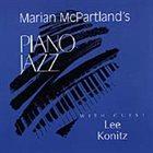 MARIAN MCPARTLAND Piano Jazz With Lee Konitz album cover