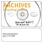 MARKUS REUTER Solo Loop Sessions 11 - 14 July 1999 album cover